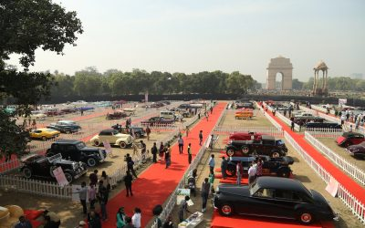 Silk Road Cars: 7th Annual 21 Gun Salute International Vintage Car Rally & Concours Show 2017, Delhi, India