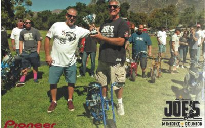 Joe's Minibike Reunion 2017 was a mostly single cylinder gas!