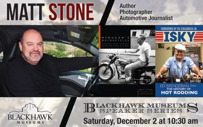 Book signing and slide show this weekend, December 2 at Blackhawk Museum