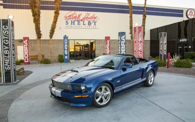 CARROLL SHELBY FOUNDATION TO AUCTION SHELBY GT CONVERTIBLE PROTOTYPE  AT BARRETT-JACKSON SCOTTSDALE