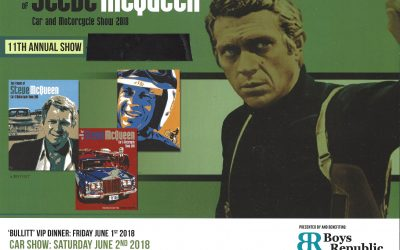 Save the date, and enter your car or bike for the Friends of Steve McQueen Car Show June 1 $& 2