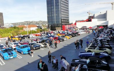 Carroll Shelby's 95th birthday celebrated at Petersen Automotive Museum Cruise In