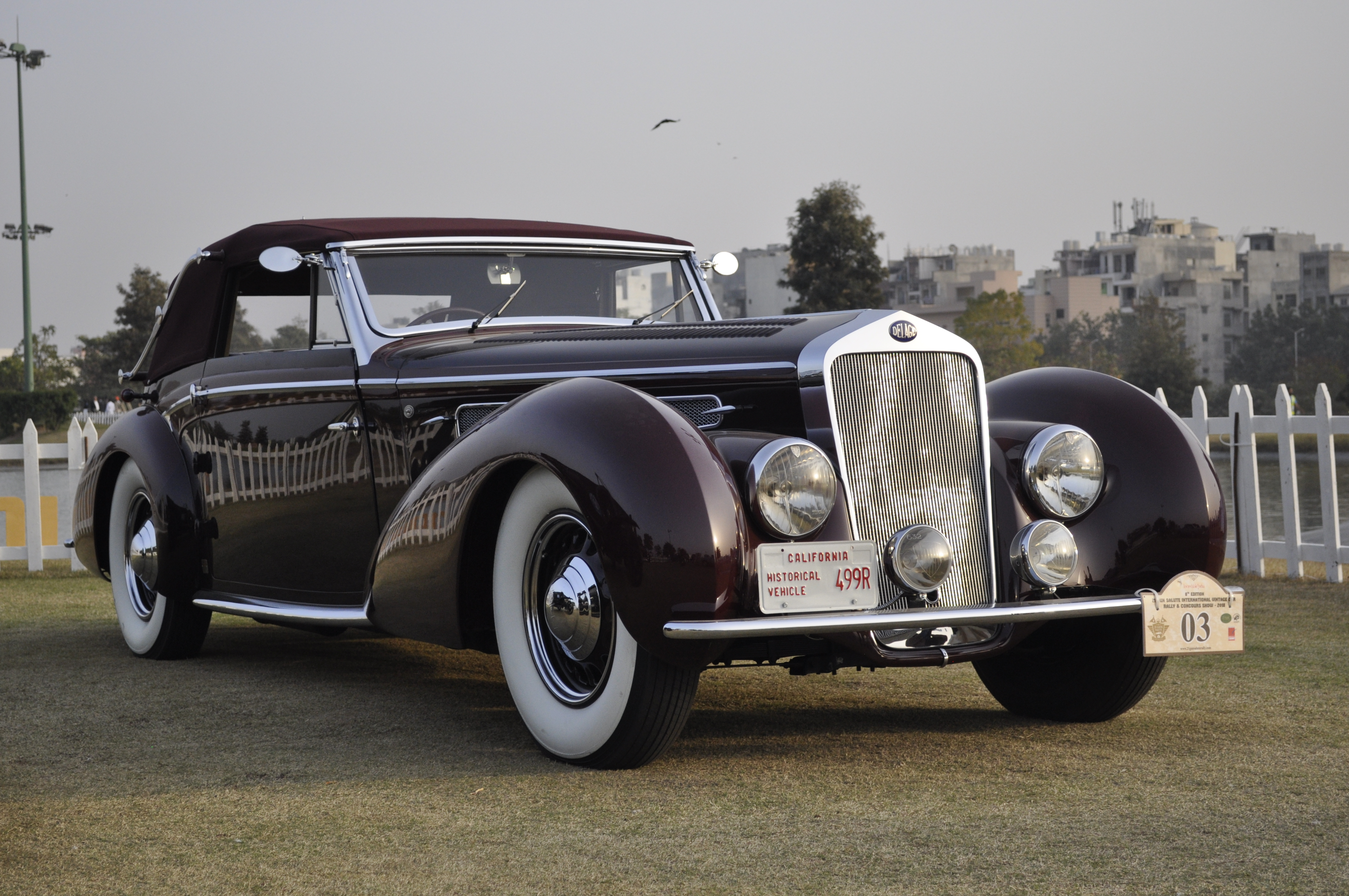 India\'s 21 Gun Salute International Vintage Car Rally & Concours ...