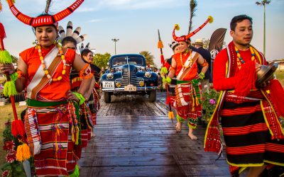 India's 21 Gun Salute International Vintage Car Rally & Concours Show 2018