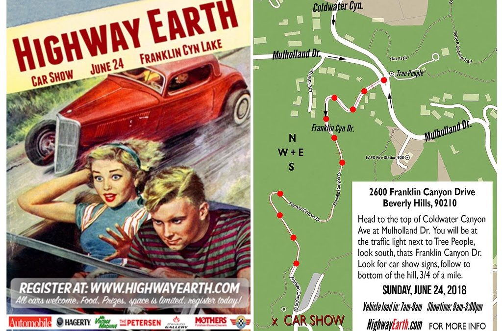 Calendar Alert: Highway Earth Car Show is Sunday, June 24, 2018