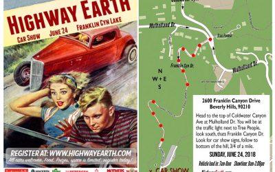 Calendar Alert: Highway Earth Car Show is Sunday, June 24, 2018