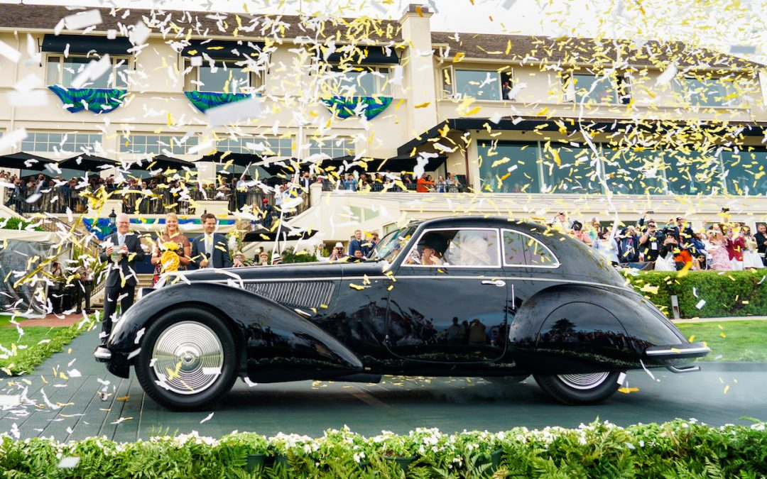 Touring­Bodied Alfa Romeo 8C 2900B Named Best of Show at the 68th Pebble Beach Concours d'Elegance