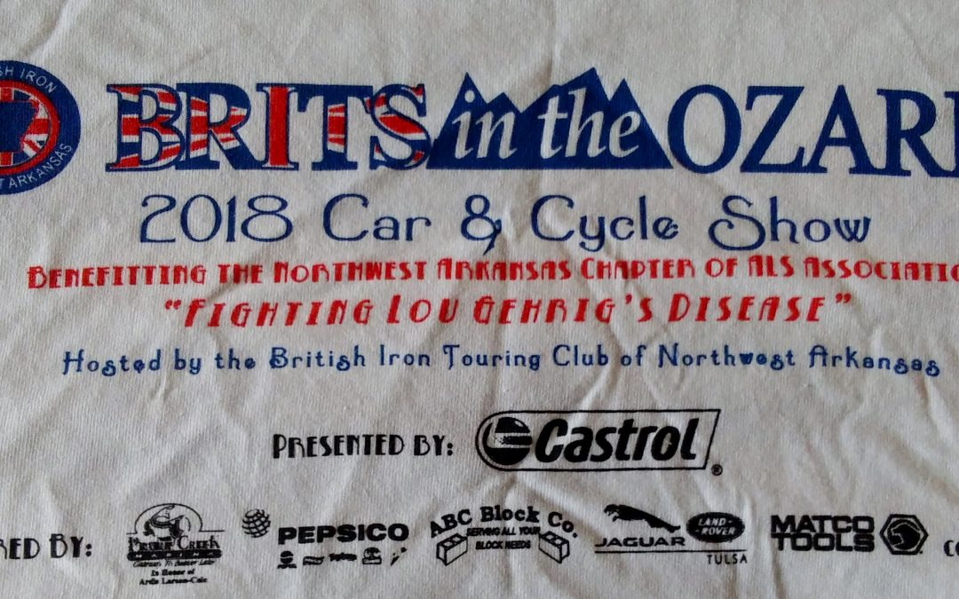 Brits In the Ozarks All-British car show 2018