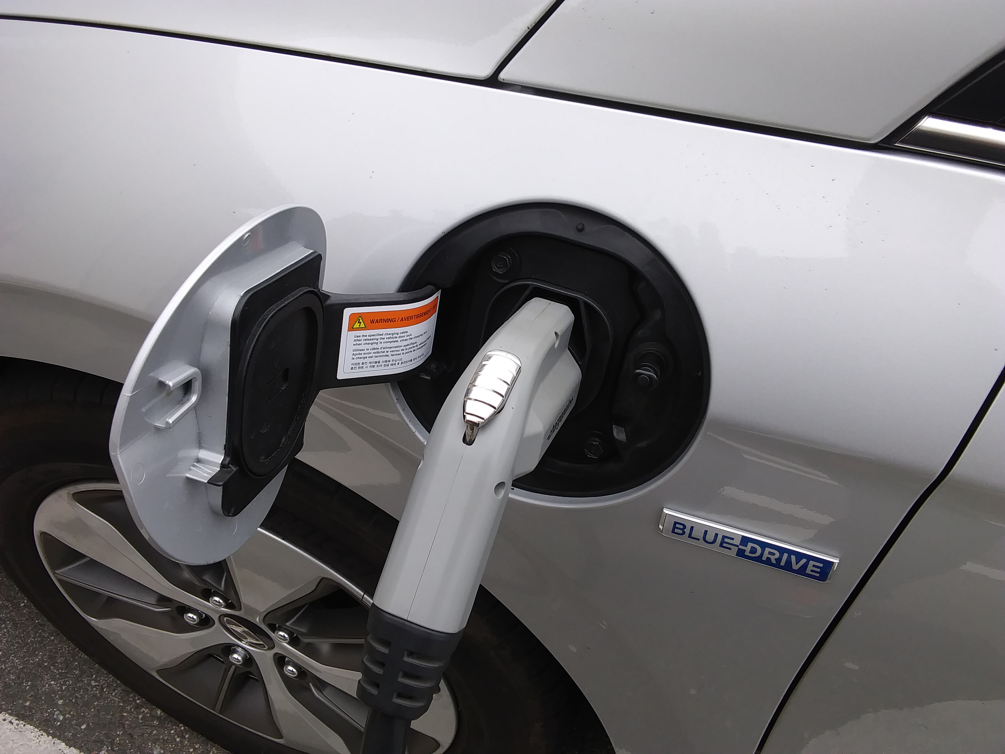 The Ioniq Uses Same Sae Charging Ports And Plug As Does Every Other Electric Cars Save Tesla You Won T Have Trouble It Most Anywhere On