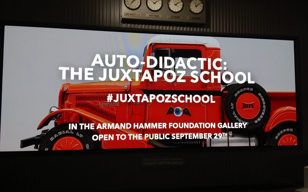 Auto-Didactic: The Juxtapoz School — Petersen Automotive Museum Presents New Art and Automobile Exhibit Featuring Artists from Juxtapoz Magazine