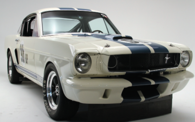 """ORIGINAL VENICE CREW"" TO OFFER BONDURANT EDITION 1965 FORD SHELBY G.T. 350 COMPETITION MODEL SPORTS CAR"