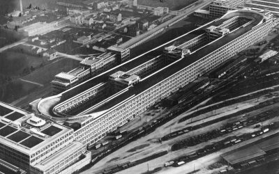 FIAT Lingotto: A car factory with a race track on its roof!