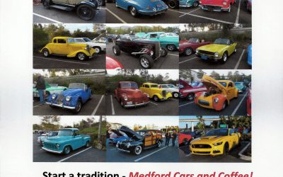 Medford (OR) Cars 'N Coffee Launches Saturday, May 4, 2019
