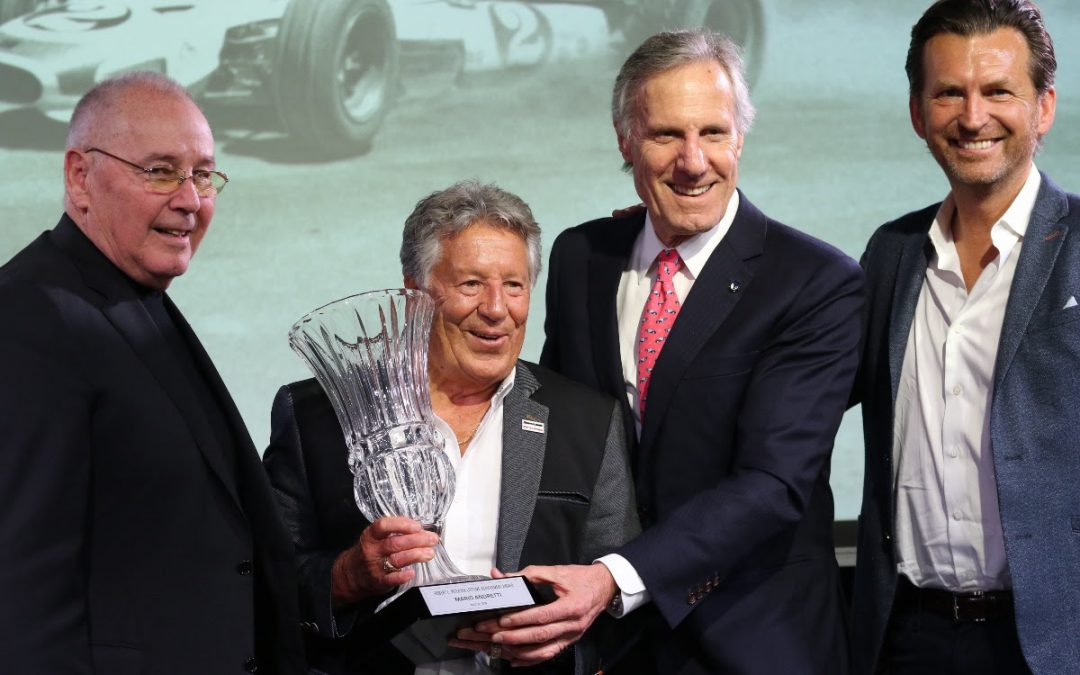 Petersen Automotive Museum Honors Mario Andretti with Robert E. Petersen Lifetime Achievement Award