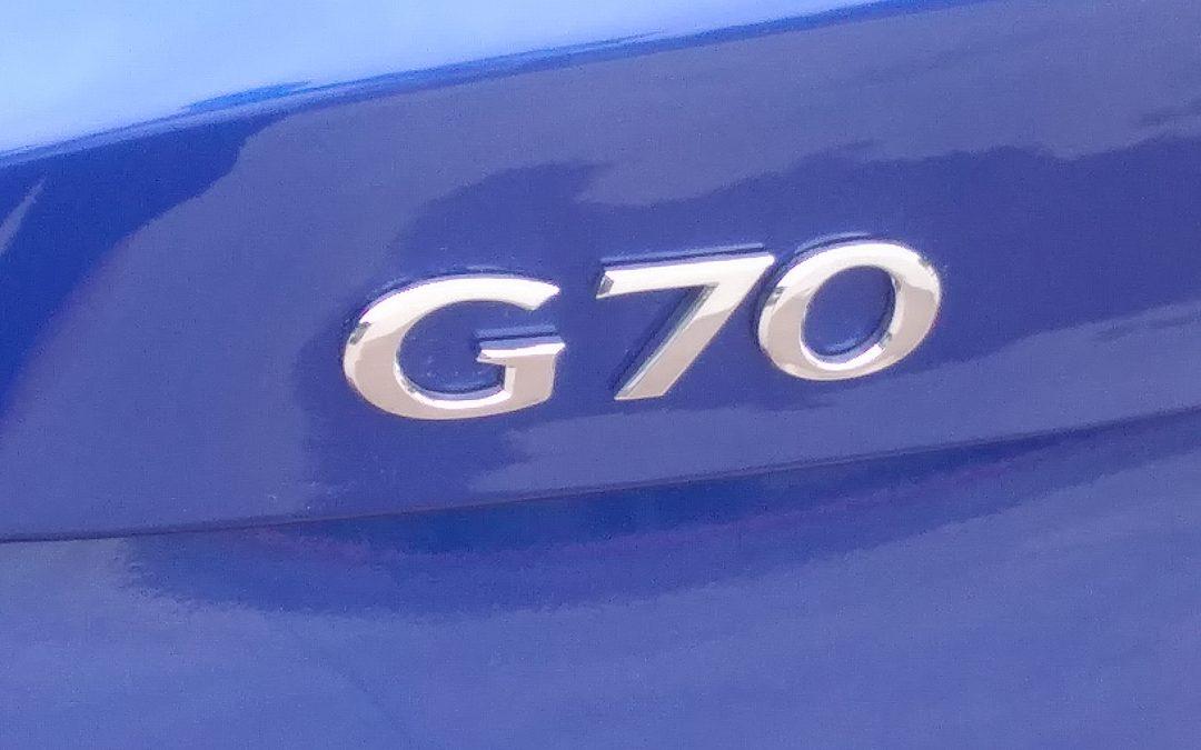 DRIVEN: 2019 Genesis G70 RWD 3.3T Sport