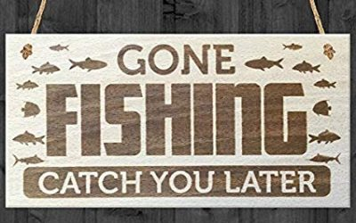 Gone Fishin, Blog on vacation — until July 4