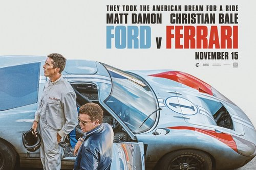 The Petersen Automotive Museum features Ford v Ferrari cars