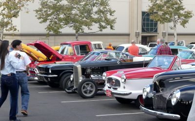 Early Rodders Club Cars N'Coffee, La Canada, California