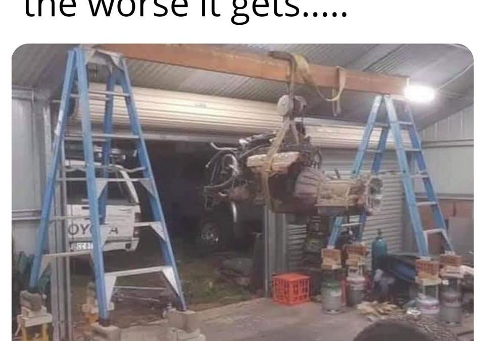 The World's Worst Ever Engine Hoist