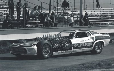 BLAST FROM THE PAST: GALPIN FORD FOUR-ENGINE 'MACH IV' FUNNY CAR