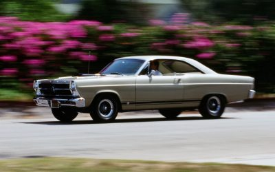 ORIGINAL OWNER GARY KIRKPATRICK STILL PROUD OF HIS '66 FAIRLANE GTA
