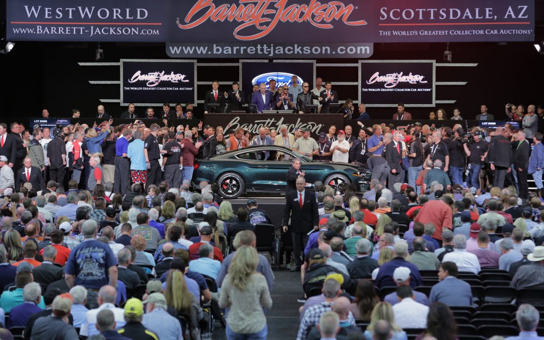 Barrett-Jackson Back to Live Auctions