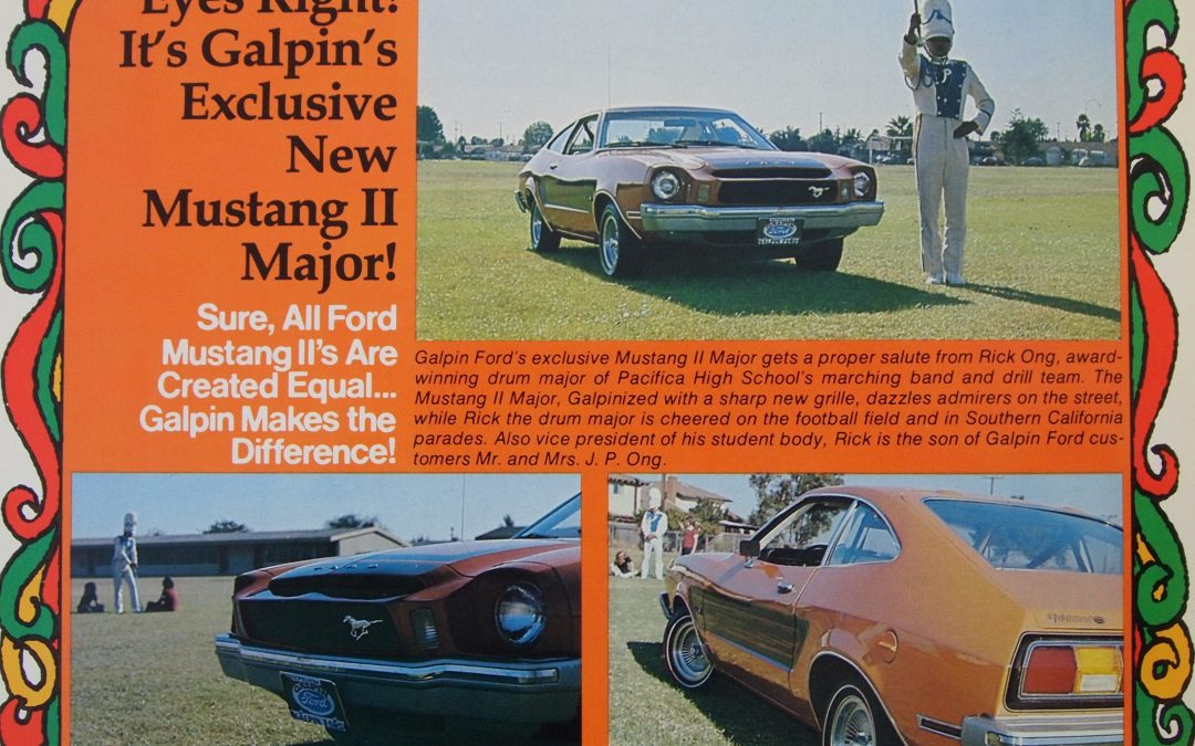 GALPIN'S MUSTANG II MAJOR: A NOSE JOB THAT WAS MEANT TO TURN HEADS