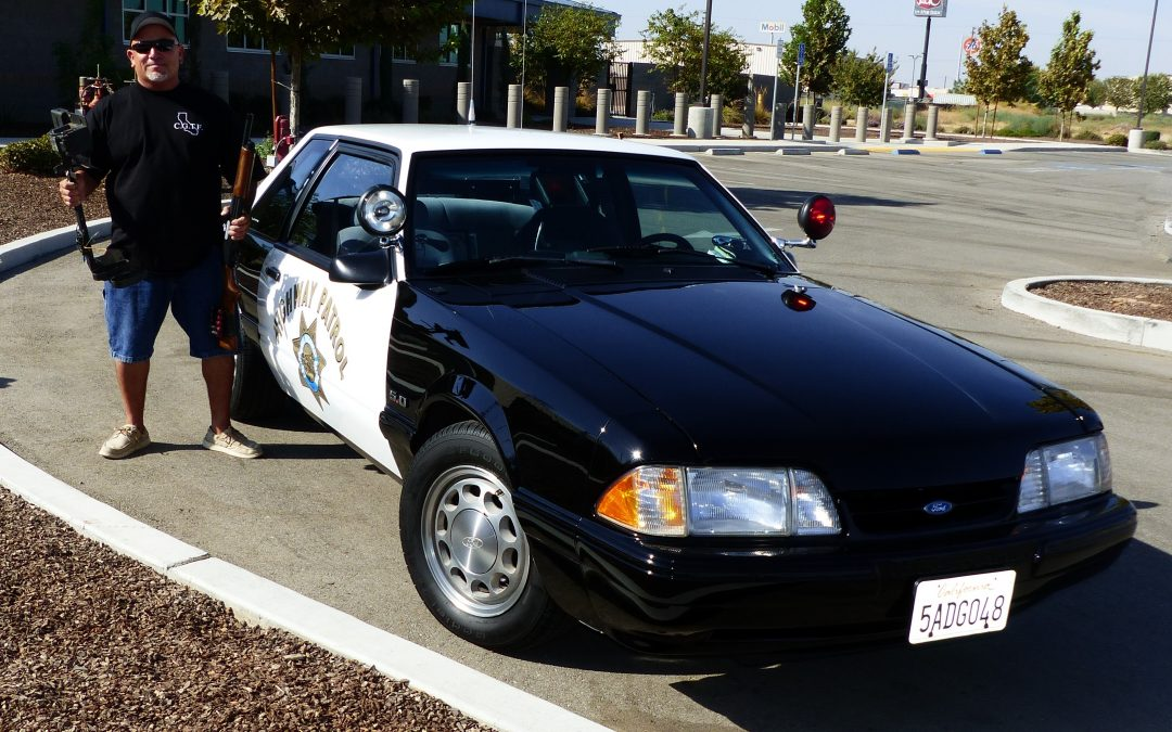 OFFICER ERIC GAONA'S HOT PURSUIT IS RESTORATION OF SSP MUSTANGS