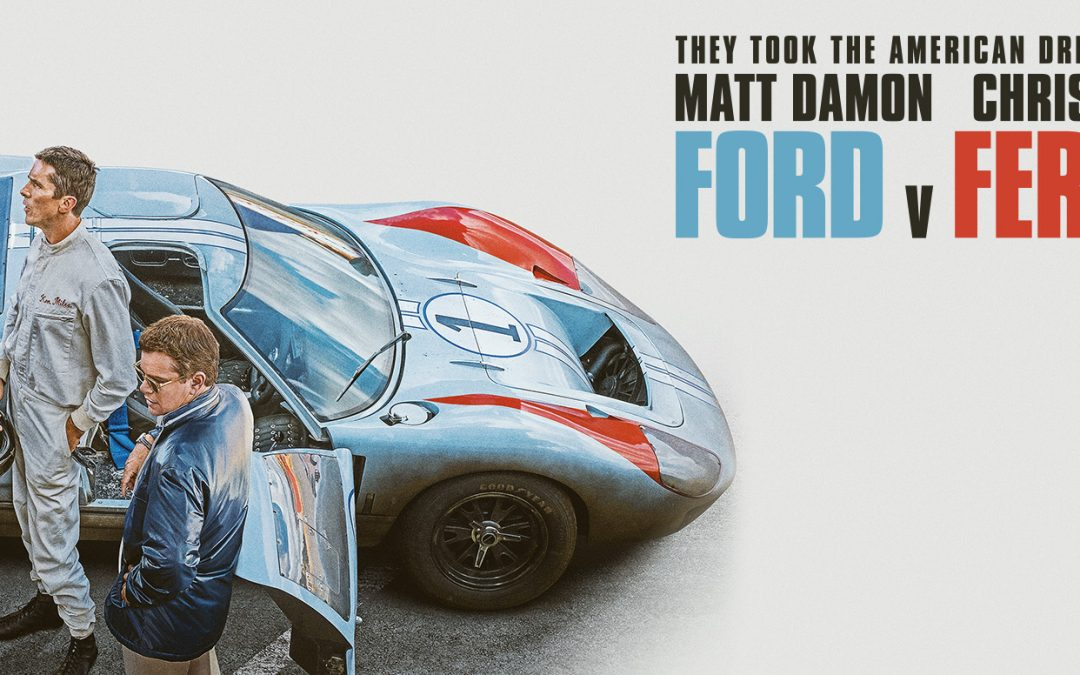 AT THE WHEEL OF THE MOVIE CARS THAT STARRED IN 'FORD V FERRARI'