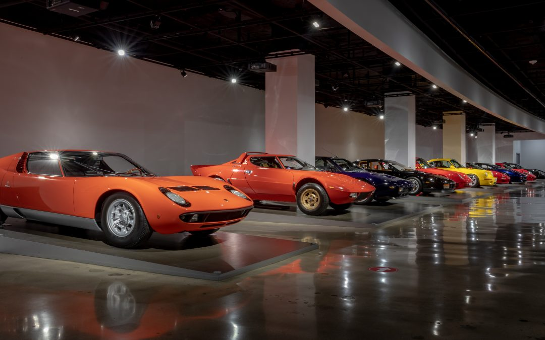 NEW SUPERCARS Exhibit at the Petersen