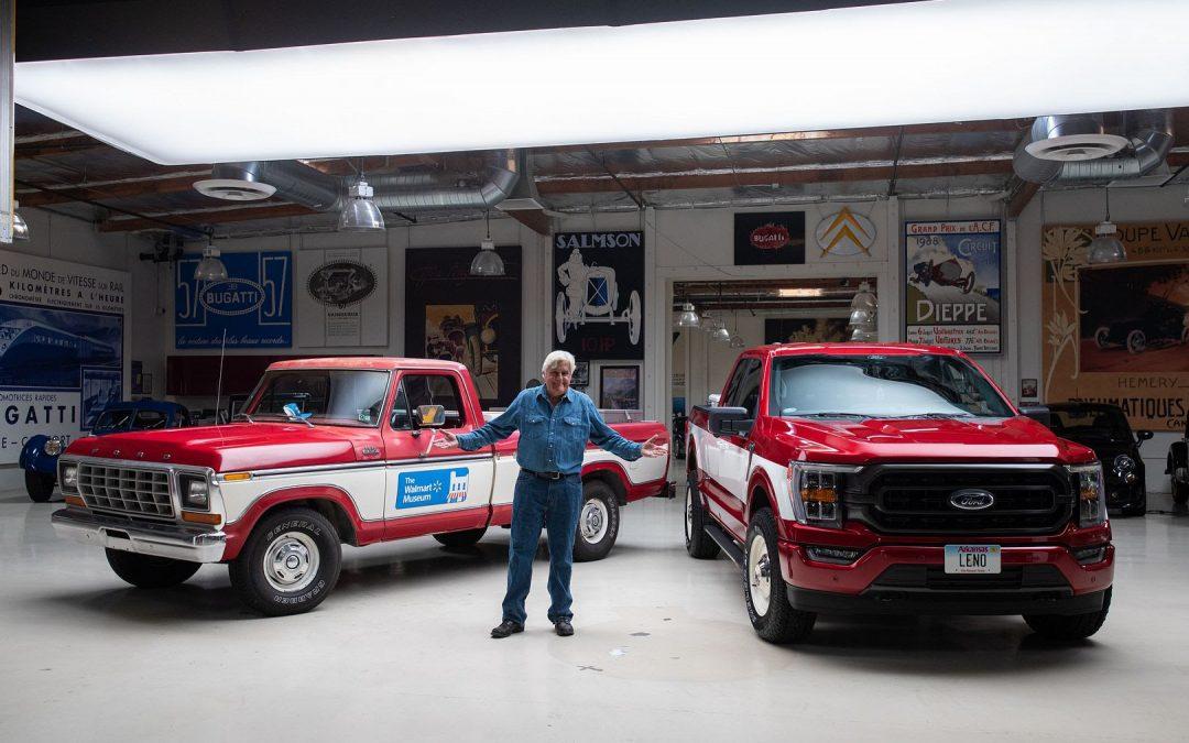 Jay Leno And Walmart Partner On Premium Car Care