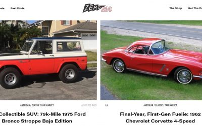 Zero260 – A New Cool Cars for Sale Aggregation Website You Can Spend Hours Crawling Over