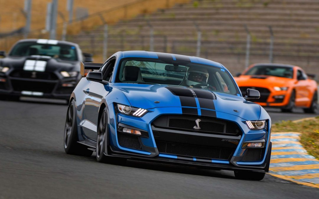 2021 GT500 on Road and on Track