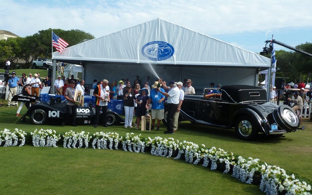 Amelia Island Concours Changes Ownership and Leadership Hands