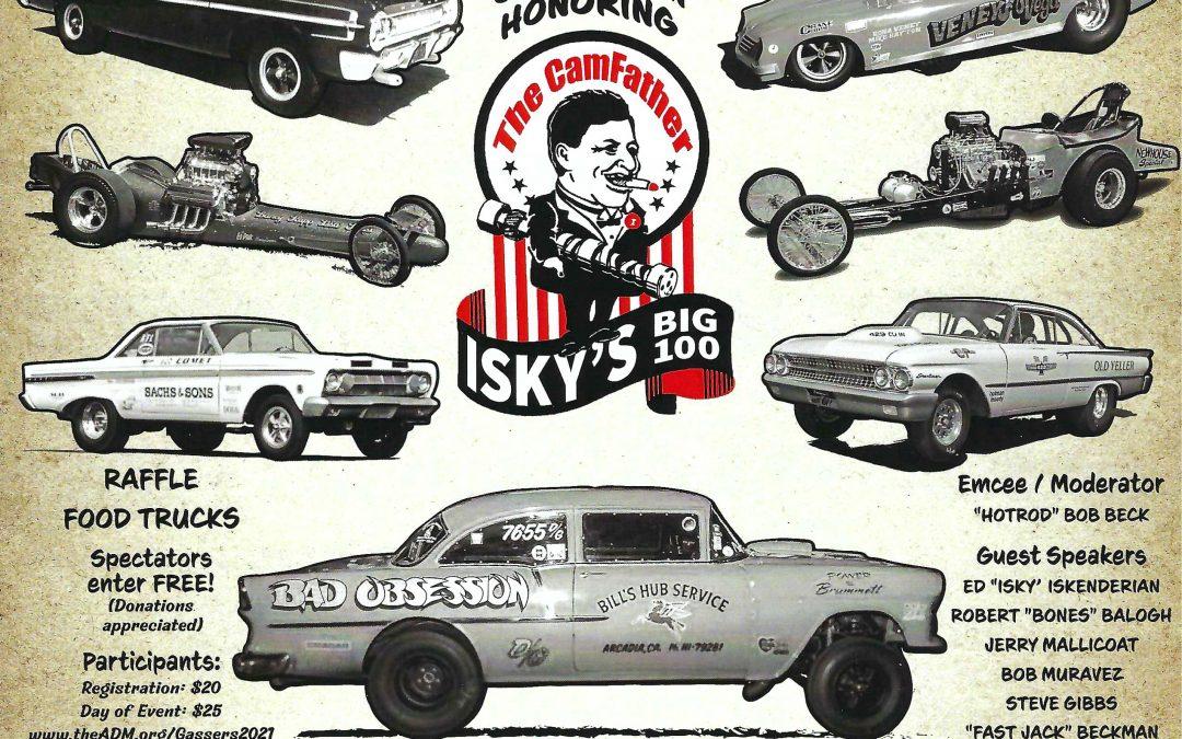 Gasser 7 and Isky 100 Calendar Alert