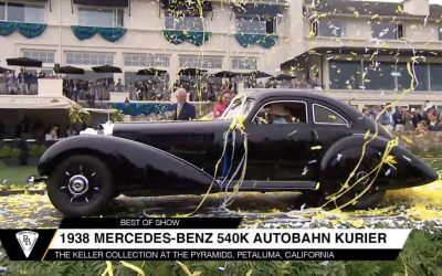 70the Pebble Beach Concours d'Elegance announces Best of Show and all class winners
