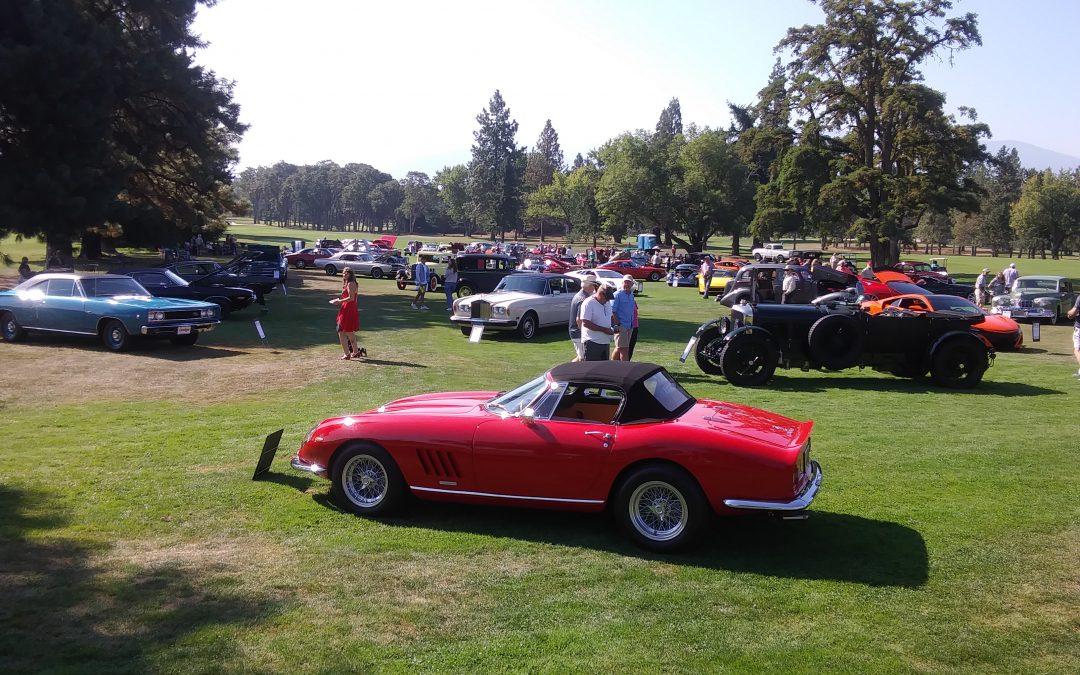 Medford Oregon's Gathering at the Oaks Car Show '21
